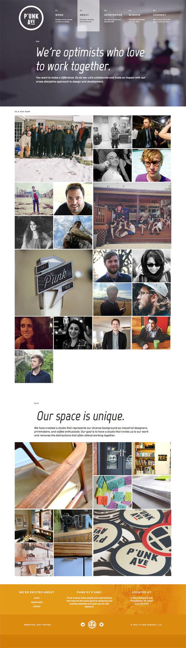 P'unk Avenue — About _ Philadelphia PA (20140421) #website #about