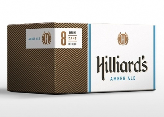 Hilliard's Brewery | Mint Design #beer #24 #12 #case #pack #can