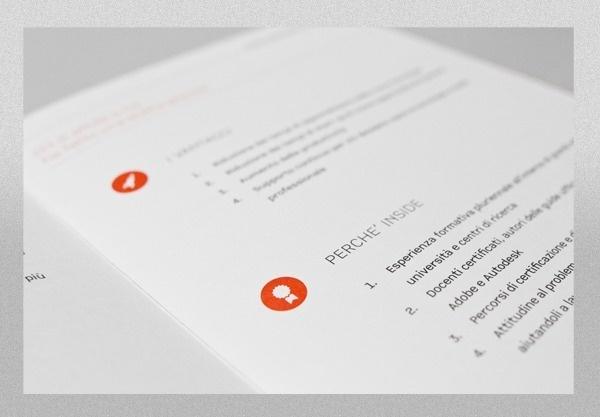 Brochure InSide Training on Behance #icon