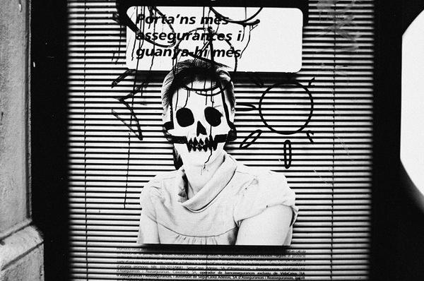 Emil Kozak #white #crow #girl #black #photography #and #skull