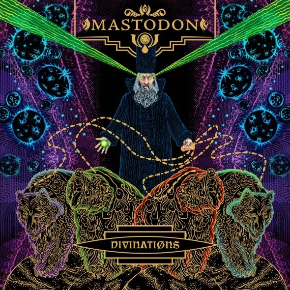 "Mastodon's ""Divinations"" Single illustrated by Paul Romano #Music #Mastodon #PaulRomano #Illustration"