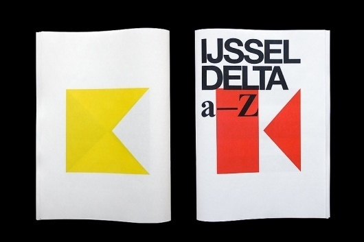 Matt van Leeuwen » IJsseldelta a-Z #layout #geometry