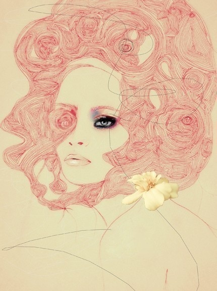 Fashion Illustration Art Print #fashion #print #art #illustration