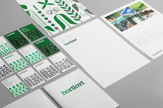 Bunch #print #design #identity #bunch #green