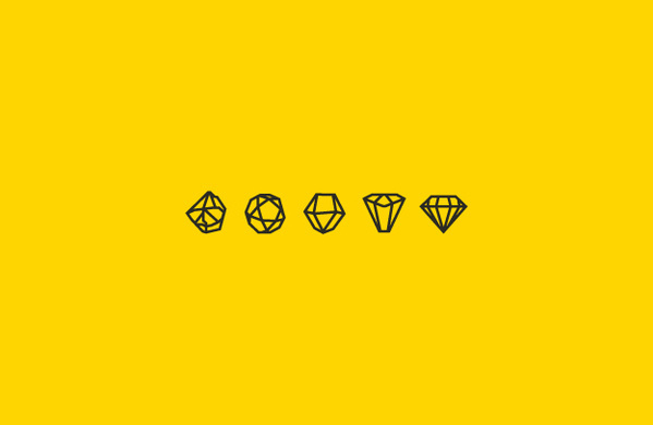 Rough Diamonds #weme #rough #icons #diamonds #logo