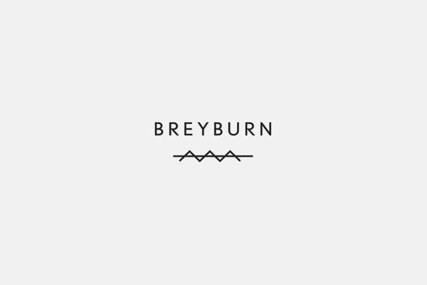 Breyburn Identity by High Tide #branding #icon #design #emblem #hightide #hightidedesign #identity #hightidecreative #logo