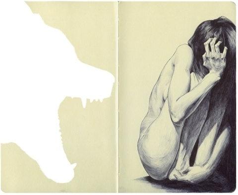 FFFFOUND! | ChaMonsta #illustration #pencil #sketch