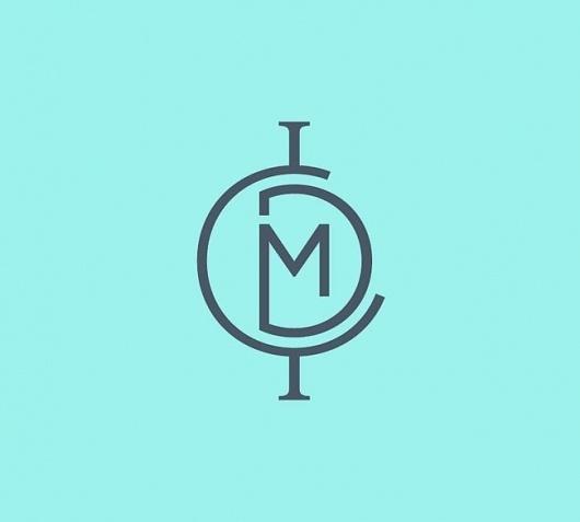 ICMD   Identity Designed #icon #logo #letter #globe