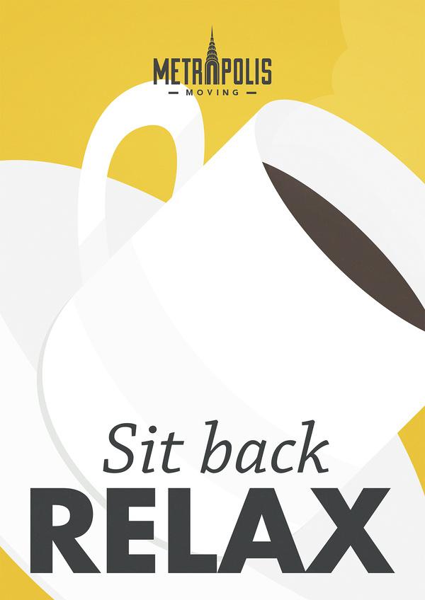 Metropolis moving_sit back relax #poster