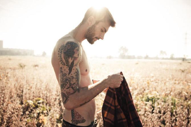 Rafael Lazzini by Dennison Bertram - Heaven is for Rock Stars. Homotography.blogspot.com #model #male #photography #tattoo