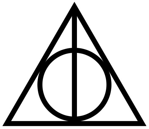 http://smaracuja.tumblr.com/post/1593500421 #harry #potter #deathly #hallows #logo #signet