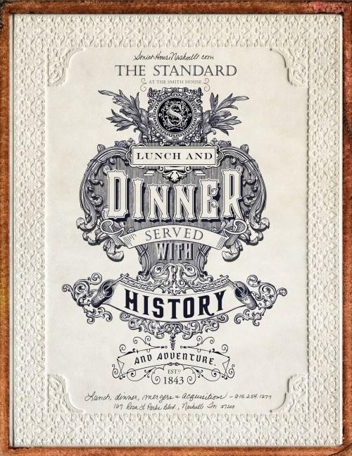 Smothhouse 1843 #nashville #vintage #poster #typography