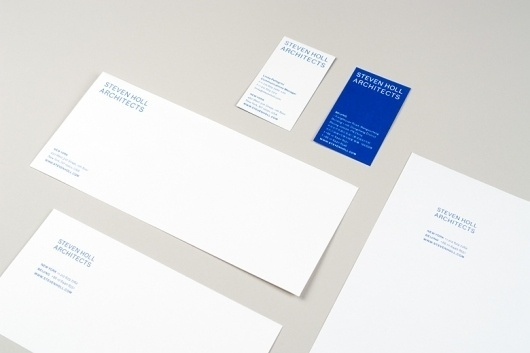 Project Projects — Steven Holl Architects #print #identity