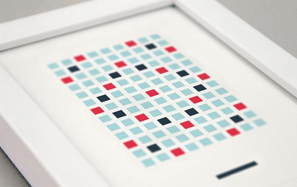Matthew Hancock #frame #hancock #breakout #peggle #print #ludographica #matthew #art #game #scrabble