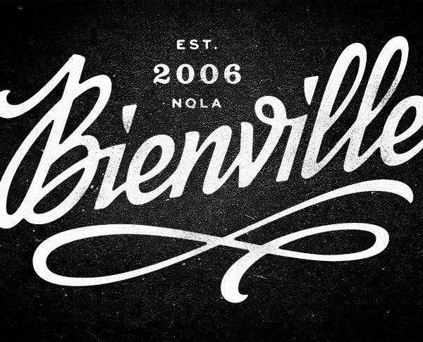 Bienville | Erik Marinovich #lettering #script