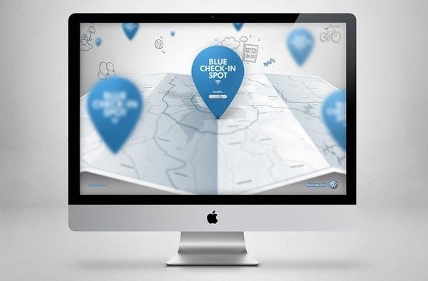 Volkswagen Blue Check-in - Felipe Ferreira #web
