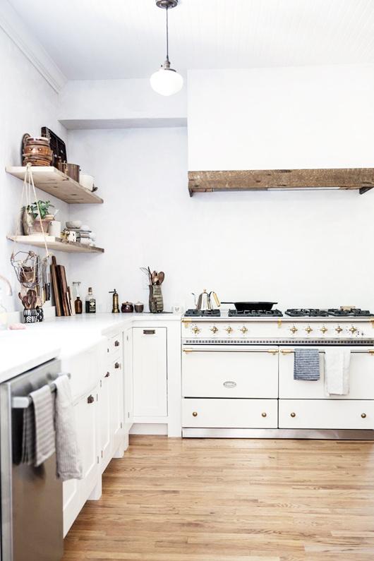 dreamy brass kitchen fixtures / sfgirlbybay #interior design #decoration #decor #deco #kitchen