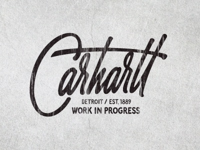 Dribbble - Carhartt by Sergey Shapiro