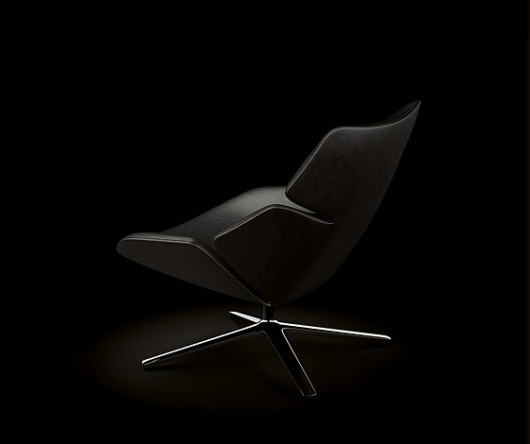 'Shrimp' armchair by Jehs+Laub for Cor (DE) at imm cologne 2011 @ Dailytonic #furniture