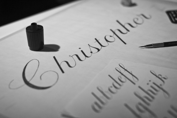 Hand Lettering by Christopher Vinca #lettering #script #drawn #hand #typography