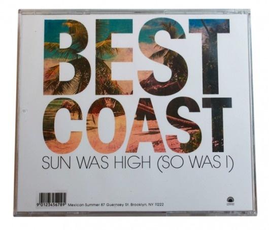 Best Coast Album Design #so #album #sun #i #best #dodaro #art #jen #was #high #coast