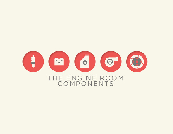 The Engine Room on Behance #icons #iconset