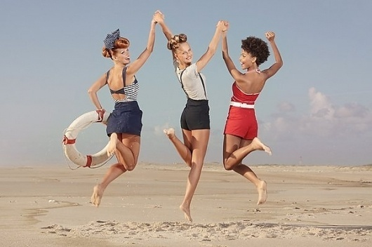 Pinup Photography by Ana Dias » Creative Photography Blog #inspiration #photography #pinup