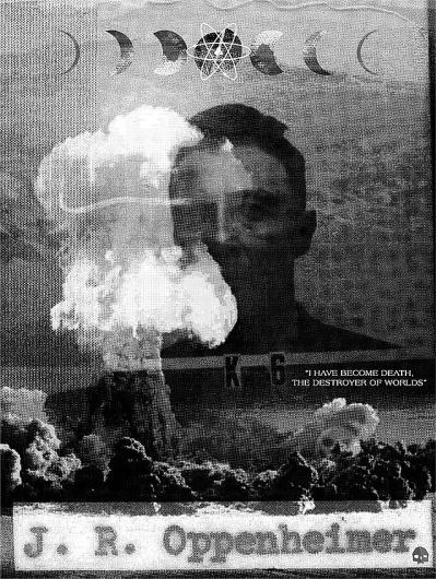 Novelty Cross// #destroyer #symbols #atomic #poster #death