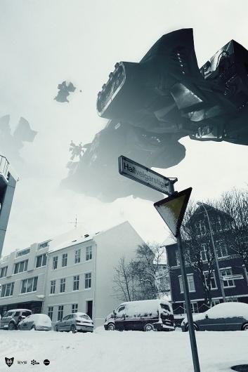Reykjavik Invasion - Eve Online on the Behance Network #invasion #visual #photography #digital