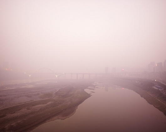 World's Fastest-Growing Megalopolis Hides in Fog   Raw File #city #photography #fog