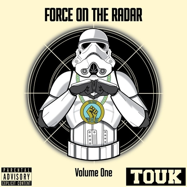 The Force - Force On The Radar (FOTR) cover #album #stormtrooper #design #graphic #wars #force #the #cover #illustration #art #star