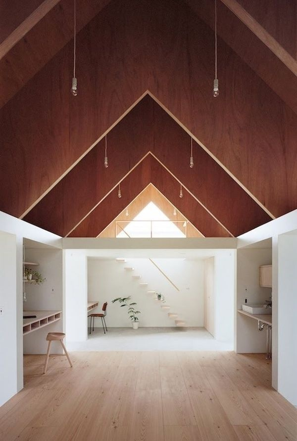 a modern Japanese home #spaces