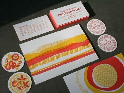 Things I save #stationary #business #print #identity #cards
