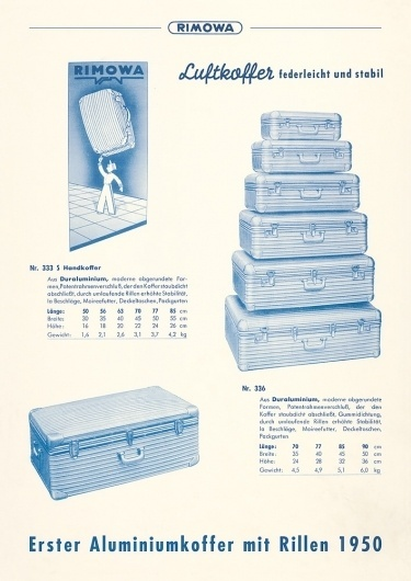 Rimowa | German Luggage for the Ages | A Continuous Lean. #a #continuous #rimowa #case #lean