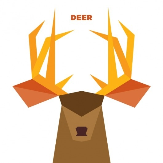 365 - Jag Nagra: Graphic Design for Print: Vancouver #deer #illustration #animal #wildlife