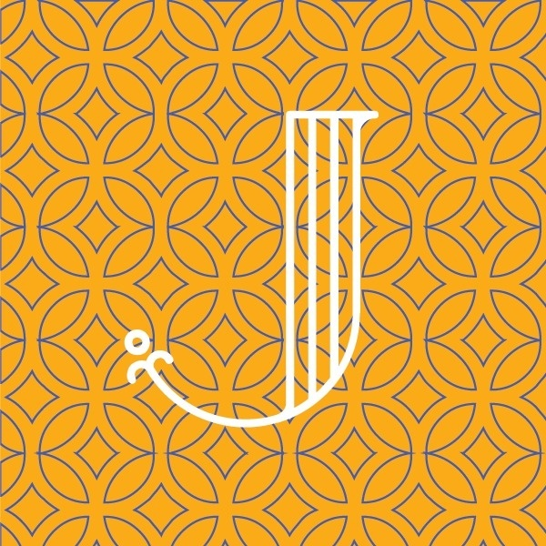 West end girl #letters #pattern #letterer #yellow #circles #letter #european #blue #dutch #typography