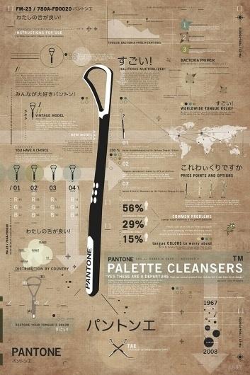 Alex Cornell #cornell #infographic #alex #pantone