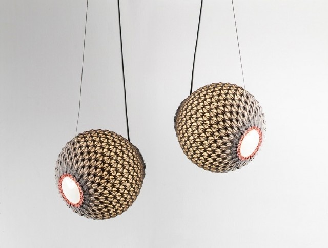 Knitted Light by Ariel-Oded_5 #knitted #light