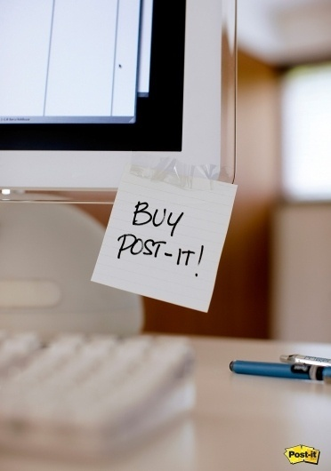 Post-it: Monitor | Ads of the World™ #post #it #monitor #computer