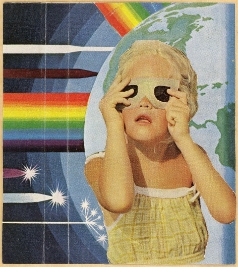 Memory Tapes | Richie Styles – Music Blog #album #memory #tape #color #retro #child #polaroid #cover #earth #vintage #rainbow