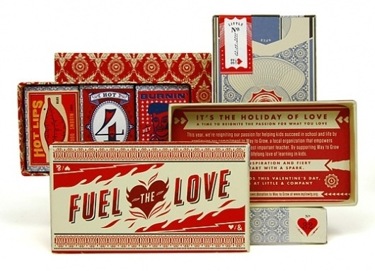 Little & Company Valentine : Lovely Package . Curating the very best packaging design. #design #valentine #package