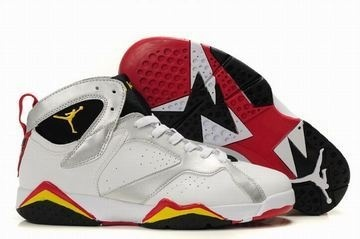 save off 194cf 07af1 Nike Air Jordan 7 Retro White Black Yellow Men s  shoes