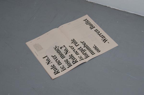 Stockholm Banco —Oskar Pernefeldt #editorial #newspaper #typography