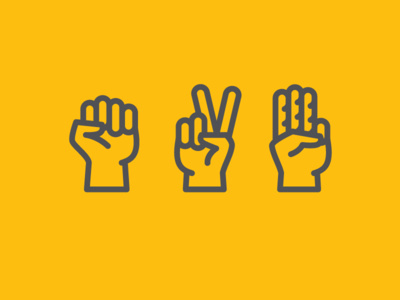 Hands up! #hands #icon #icons #flat