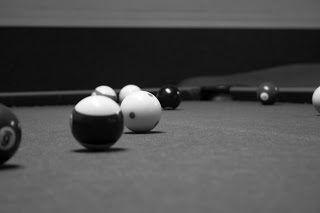 Black And White Pool Table Photography #billiards #pool #photography #table