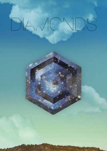 http://evilevich.tumblr.com Things I Do. #poster #diamonds #aparaats
