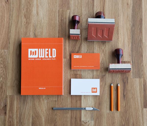 Stationery #logo #weld #identity #branding