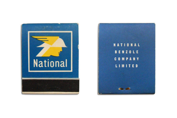 TypeToy.tumblr.com #benzole #matches #national #matchbook