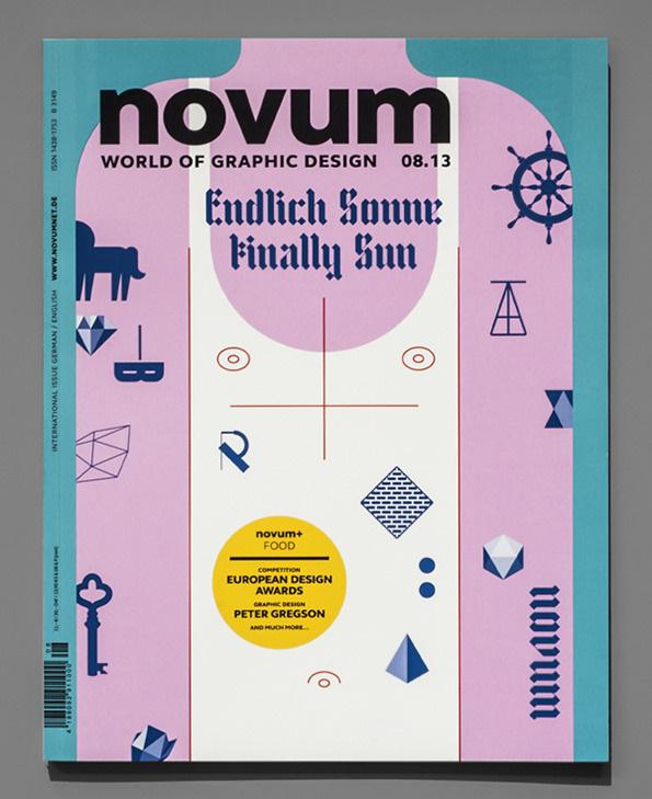 novum magazine cover #uv #sun #that #nice #novum #its #sunburn #gebrauchsgraphik #magazine