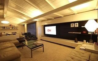 IKEA Hackers: Living Room Wall System #interior #living #room #modern
